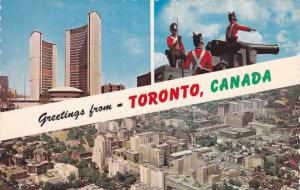 Scenic Greetings from Toronto,  Ontario,  Canada, 40-60s