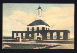 Rocky Hill, Connecticut/CT/Conn Postcard, Administration Building. Vetrans Home
