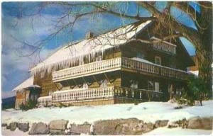 Cor Unum, Home of the Trapp Family, Stowe, Vermont, VT, 1961 Chrome