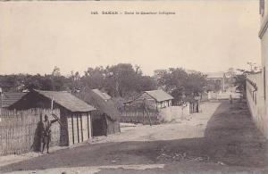 SENEGAL, Dakar, Dans la Quartier Indigene, 00-10s