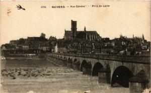 CPA   Nevers - Vue Générale - Pont de Loire    (355683)