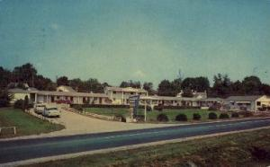 Starlight Motor Court Lexington KY 1964