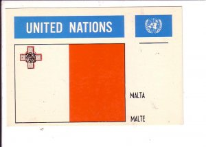 Malta Flag, United Nations