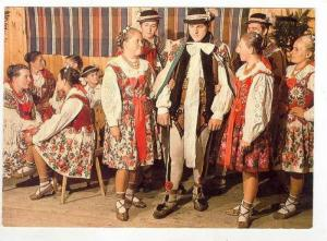 Regional Song and Dance Ensemble in Traditional Dress: CWIZEWICZ,POLAND 1960-70s