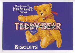 ad0313 - Peek Frean & Co Ltd - Teddy Bear Biscuits - Modern Advert Postcard