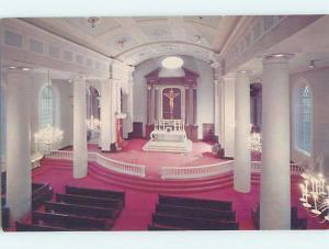 Unused Pre-1980 CHURCH SCENE St. Louis Missouri MO G3183