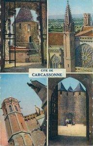 Postcard France cite de Carcasonne