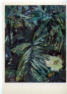 153511 OCEANIA Papua New Guinea Village Bongu gardens Plakhova