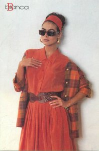 Fashion Bianca collections postcard