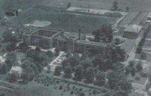West Virginia Lewisburg Aerial View Of Greenbrier Military School Albertype