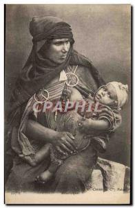 Old Postcard Moorish Oriental Beauty Child