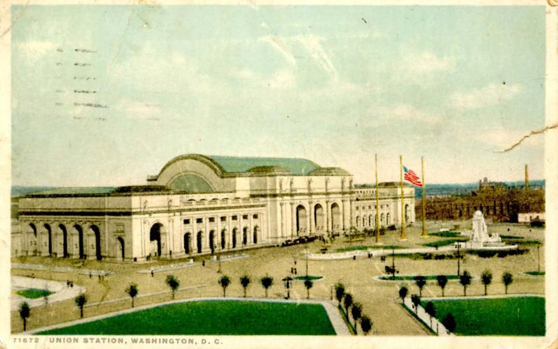 DC - Washington. Union Station   (Damaged)