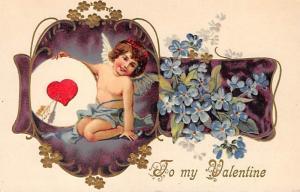 Valentines Day Postcard unused