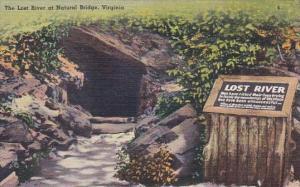 The Lost River At Natural Bridge Virginia