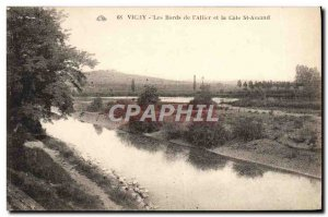 Old Postcard Vichy Edges of & # 39Allier and St Amand rating
