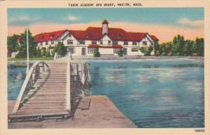 Massachusetts Marion Tabor Academy and Wharf