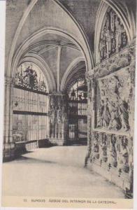 Abside del Interior de la Catedral, Catedral, Burgos, Castille, Spain