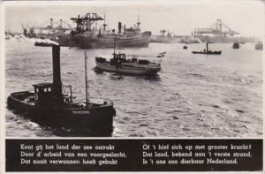 Netherlands Utrecht Harbor Scene Photo