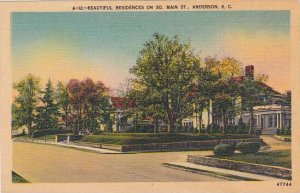 South Carolina Anderson Beautiful Residence On So Main Street