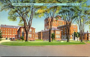 New York Albany The Albany Medical College and Albany Hospital