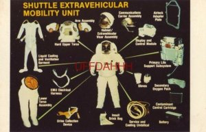 EMU - SHUTTLE EXTRAVEHICULAR MOBILITY UNIT photo by NASA
