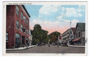 Newport, Maine, Main Street