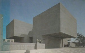 Everson Museum of Art , Syracuse New York , 50-60s ; I.M. Pei Architect