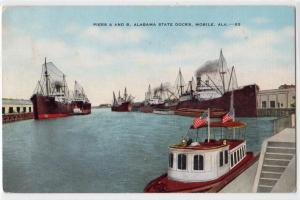 Pier A & B, Mobile AL State Dock
