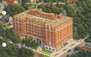 HALIFAX, Nova Scotia, Canada, 1930-40s; Lord Nelson Hotel