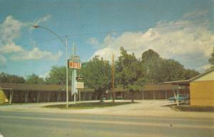 Pryor Oklahoma Grand Motel Street View Vintage Postcard K26387