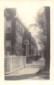 Nantucket Massachusetts Residental Area Real Photo Antique Postcard J49657