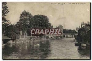 Postcard Old Bridge I & # 39Eveque edges of touques
