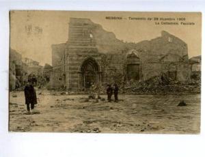 158199 Italy MESSINA Earthquake Terremoto 28 decembre 1908 OLD