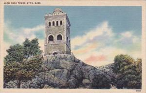 Massachusetts Lynn High Rock Tower