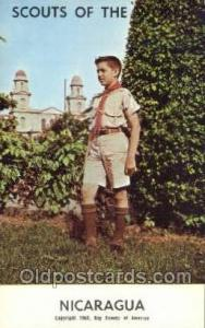 Nicaragua Boy Scouts of America, Scouting Postcard, Post Cards, Copyright 196...