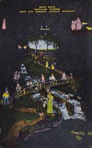 Snow White Fairyland Caverns Rock City Gardens Lookout Mountain Colorado