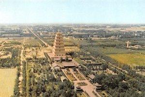Big Goose Pagoda Japan Unused