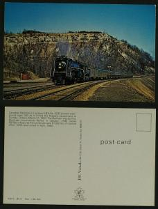 Canadian National No 6233at Dundas Ont  (published c1980)