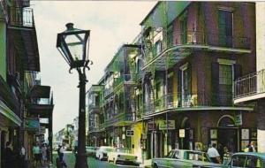 Louisiana New Orleans St Peter Street In The French Quarter