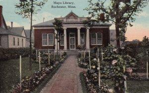 ROCHESTER, Minnesota, PU-1912; Mayo Library