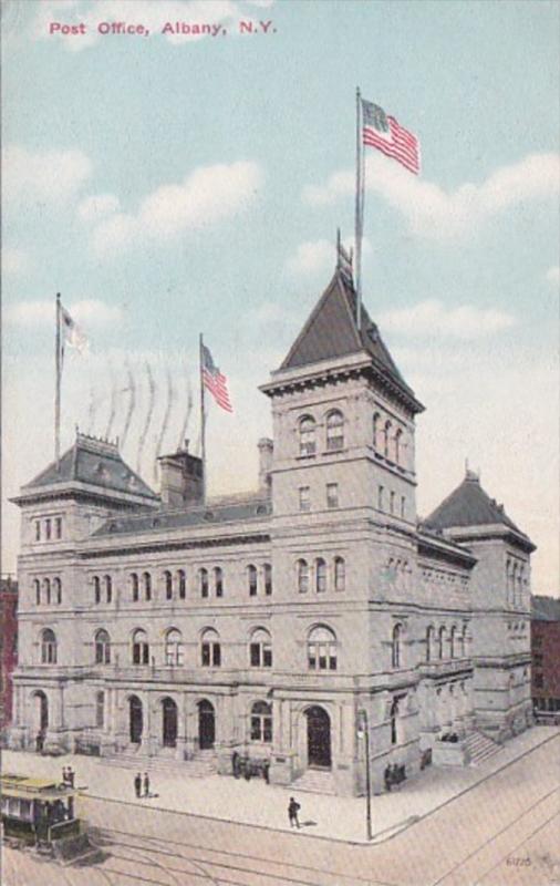 New York Albany Post Office 1911