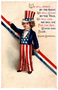 4th July , Young America, Ellen Clappsaddle