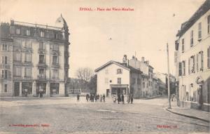 EPINAL VOSGES FRANCE~PLACE des VIEWUX-MOULINS POSTCARD