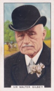 Sir Walter Gilbey Pigeon Shooting Blood Sports 1930s Cigarette Card
