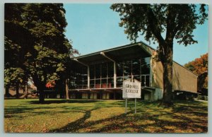 Grinnell Iowa~Burling Library~Grinnell College~1968