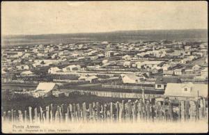 chile, PUNTA ARENAS, Panorama (1910s)