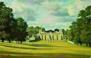 Northamptonshire Drayton House Julian Barrow Postcard