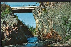 Ontario ~ SAULT STE. MARIE Montreal River Gorge Highway Bridge  1950s-1970s