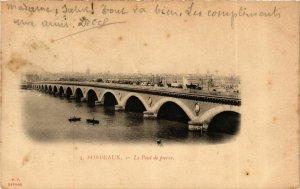 CPA Gironde BORDEAUX Le Pont de PIERRE (982500)