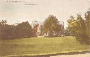 Peace Dale Rhode Island Hazards Residence Exterior Antique Postcard K13799